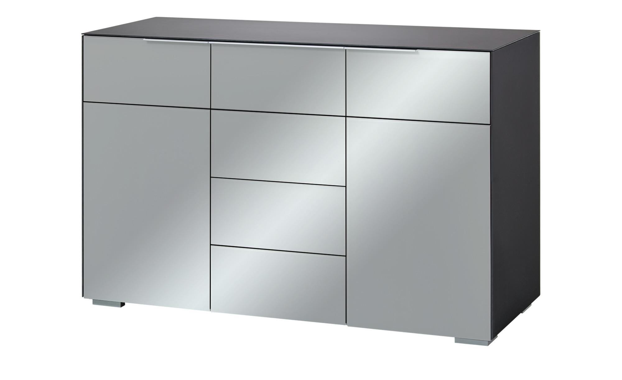 kommode mailand breite 120 cm h he 80 cm grau online kaufen bei woonio. Black Bedroom Furniture Sets. Home Design Ideas