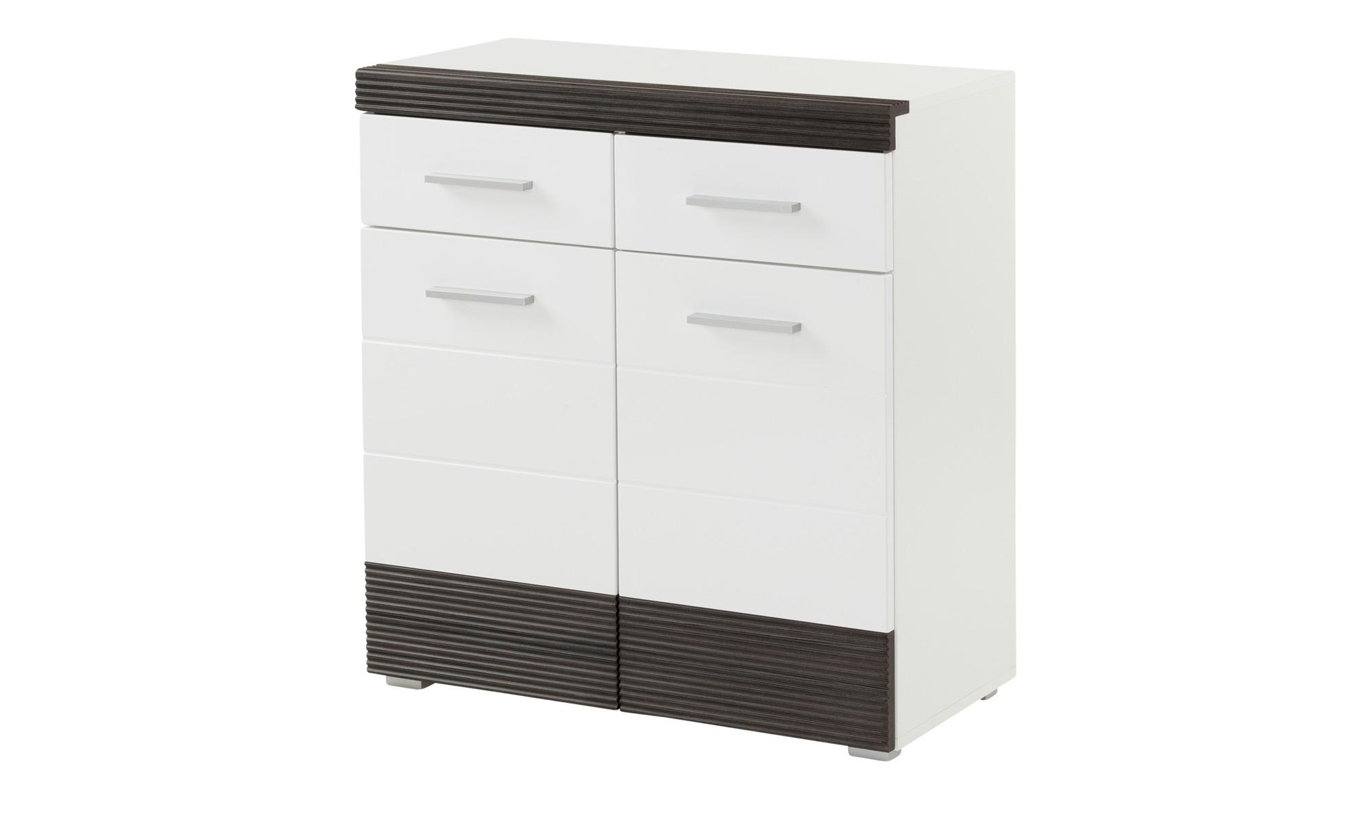 kommode moniga breite 80 cm h he 89 cm wei online kaufen bei woonio. Black Bedroom Furniture Sets. Home Design Ideas