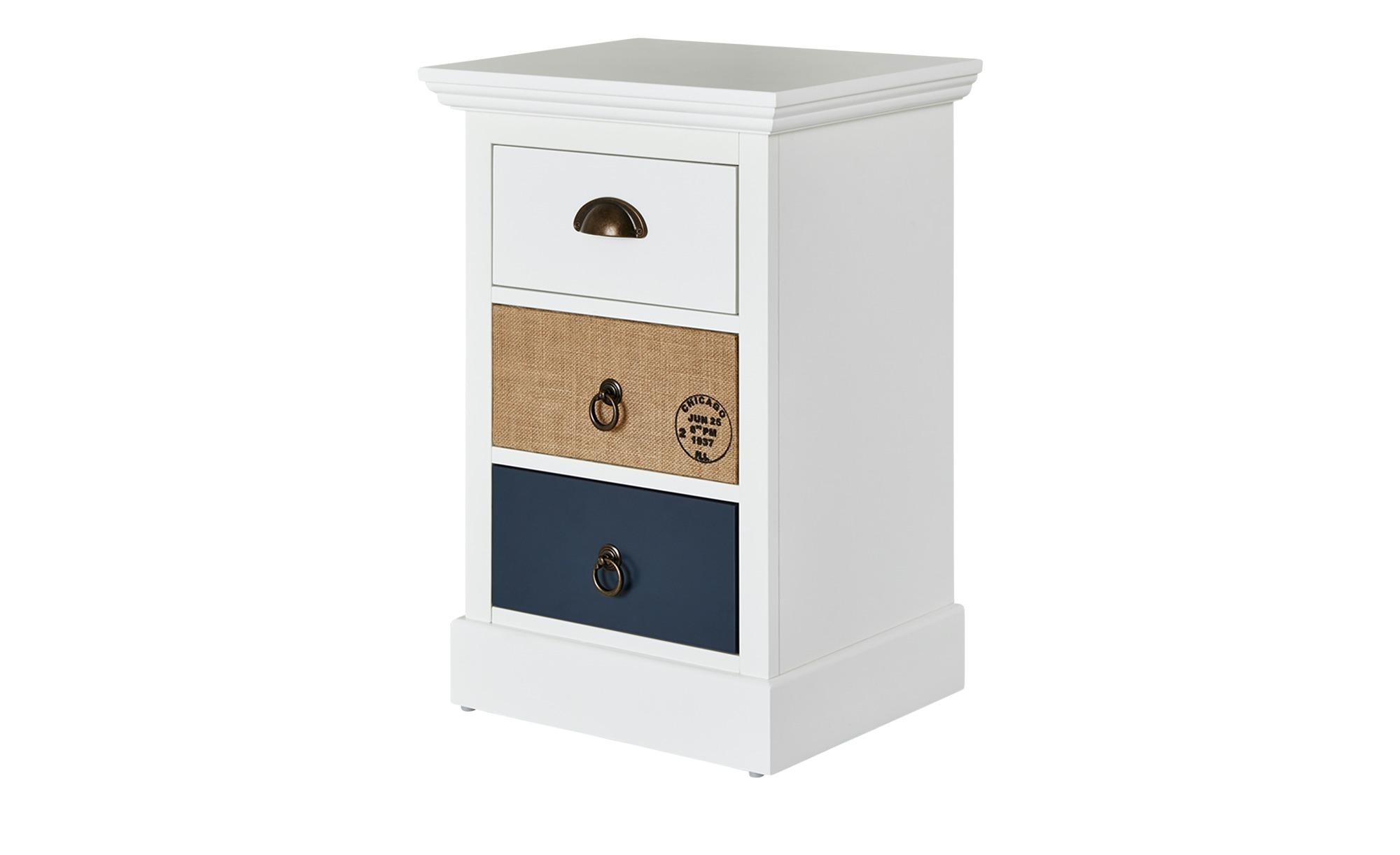 kommode neapel breite 40 cm h he 61 cm wei online kaufen bei woonio. Black Bedroom Furniture Sets. Home Design Ideas
