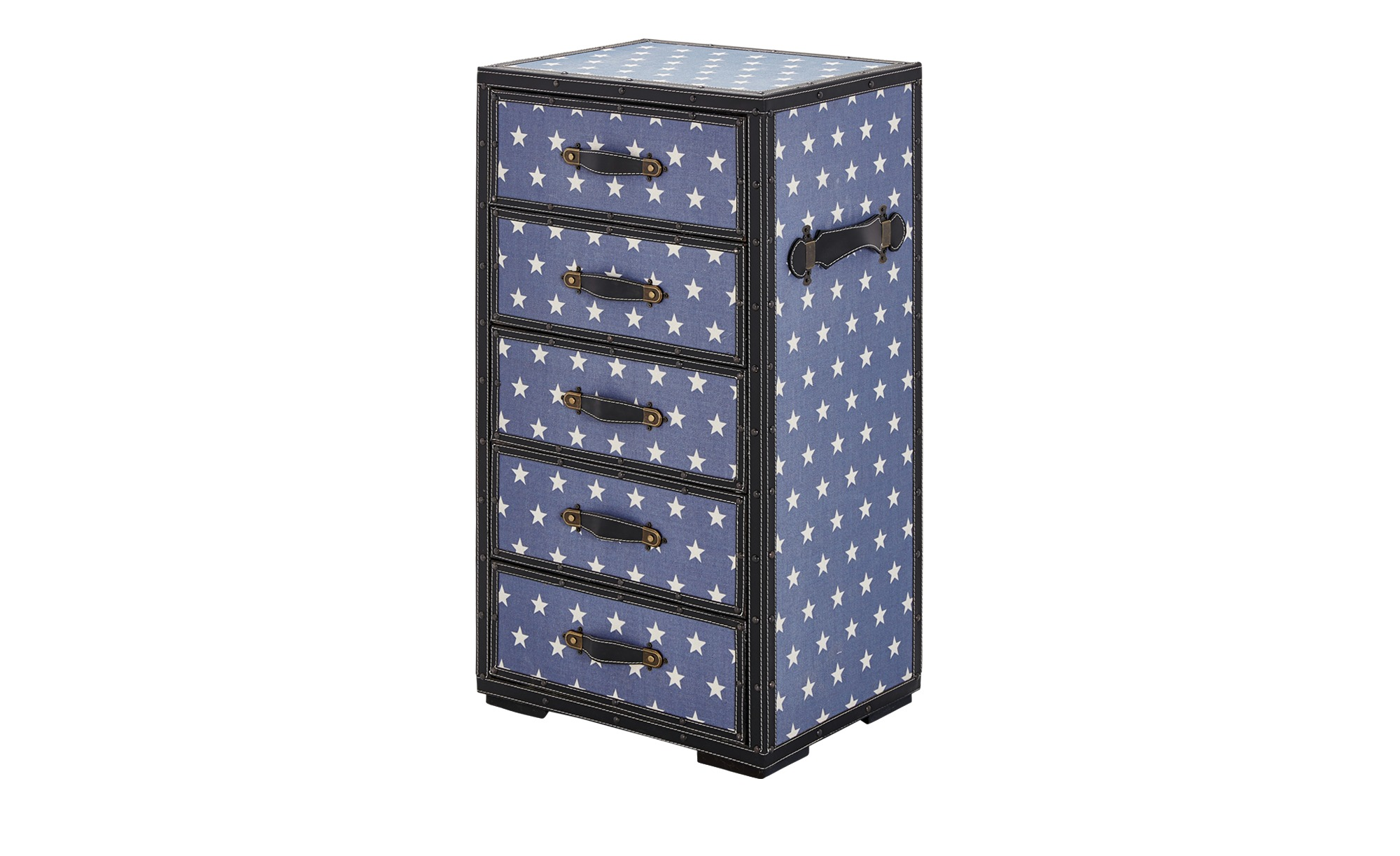 kommode starlight breite 40 cm h he 87 cm blau online kaufen bei woonio. Black Bedroom Furniture Sets. Home Design Ideas