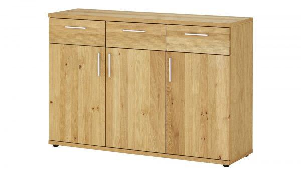 Kommode  Vogelsang II Kommode  Vogelsang II-Kommode-holzfarben-Materialmix Breite: 125 cm Höhe: 87 cm holzfarben