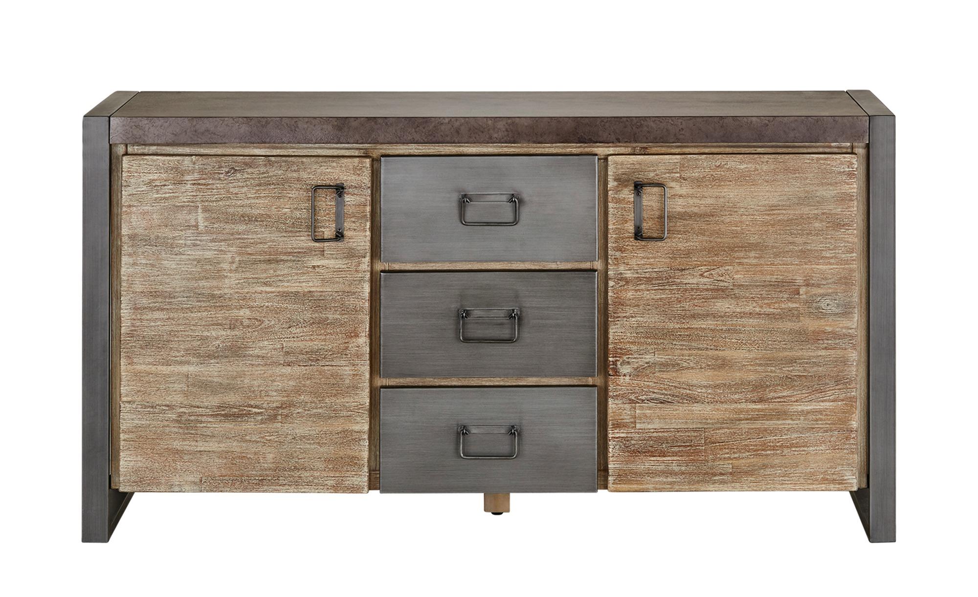 love it sideboard metropolis breite 150 cm h he 80 cm grau online kaufen bei woonio. Black Bedroom Furniture Sets. Home Design Ideas