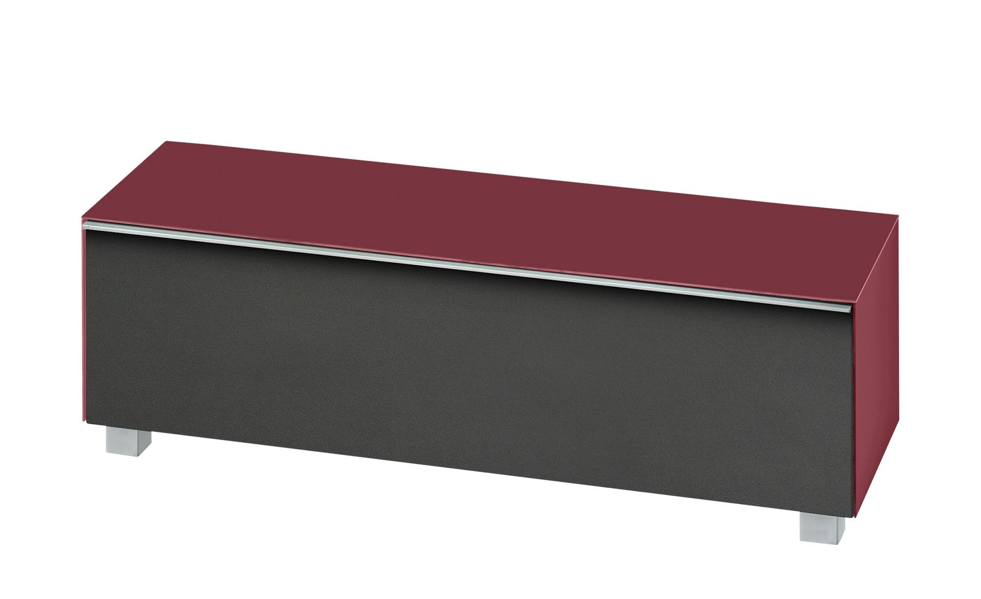 lowboard soundbase s breite 140 cm h he 43 cm rot online kaufen bei woonio. Black Bedroom Furniture Sets. Home Design Ideas