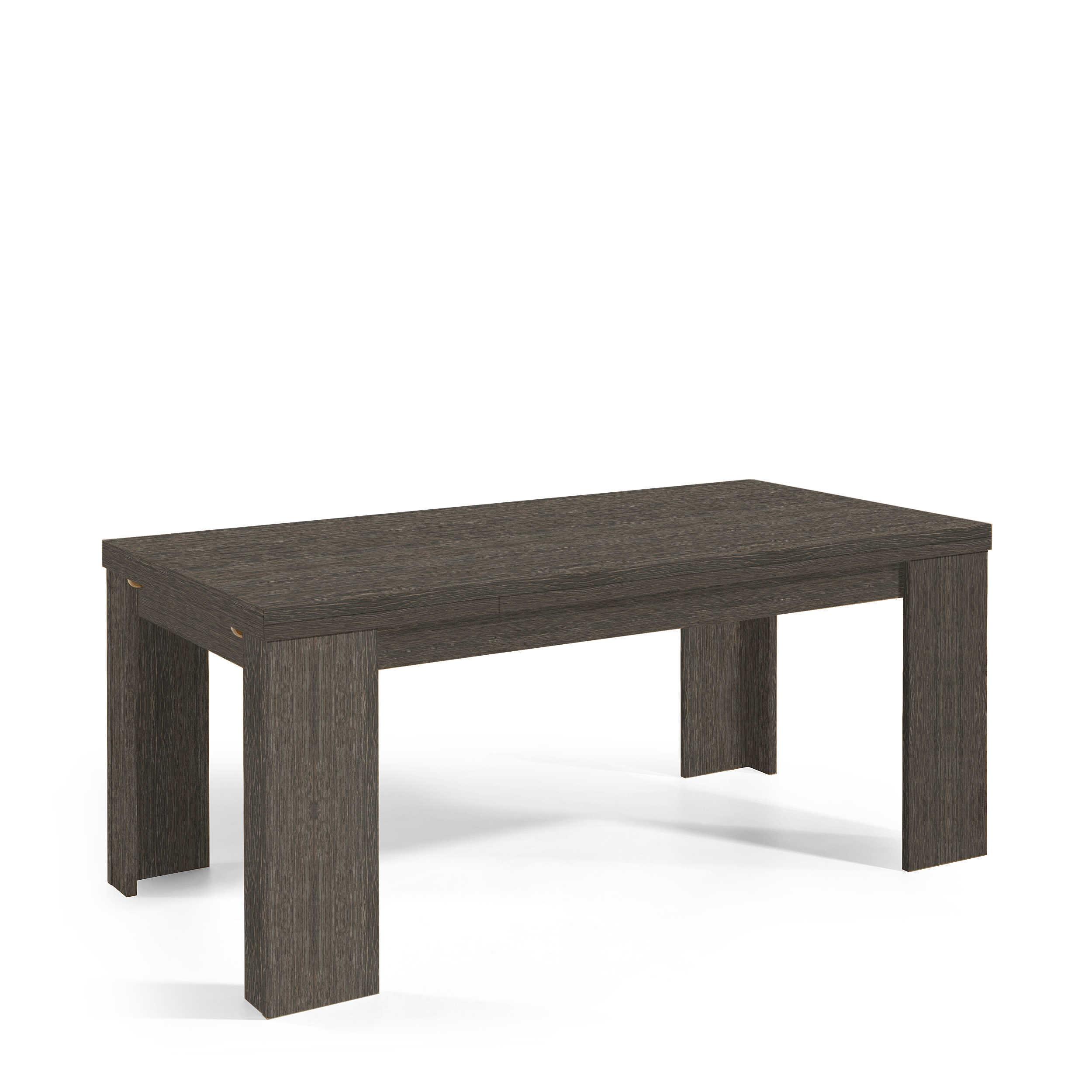 m usbacher esstisch mit auszug roma 180 280 x 90 cm eiche holzoptik online kaufen bei woonio. Black Bedroom Furniture Sets. Home Design Ideas
