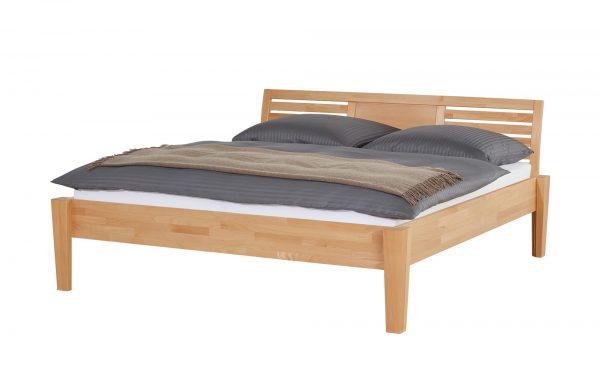 Massivholz-Bettgestell  Timber Massivholz-Bettgestell  Timber-Massivholz-Bettgestell-holzfarben Breite: 176 cm Höhe: 93 cm holzfarben