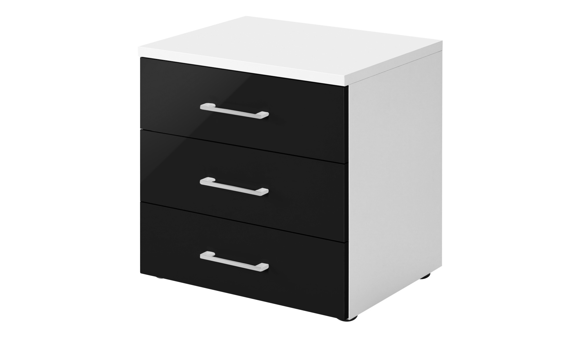 nachtkommode colors breite 50 cm h he 52 cm schwarz online kaufen bei woonio. Black Bedroom Furniture Sets. Home Design Ideas