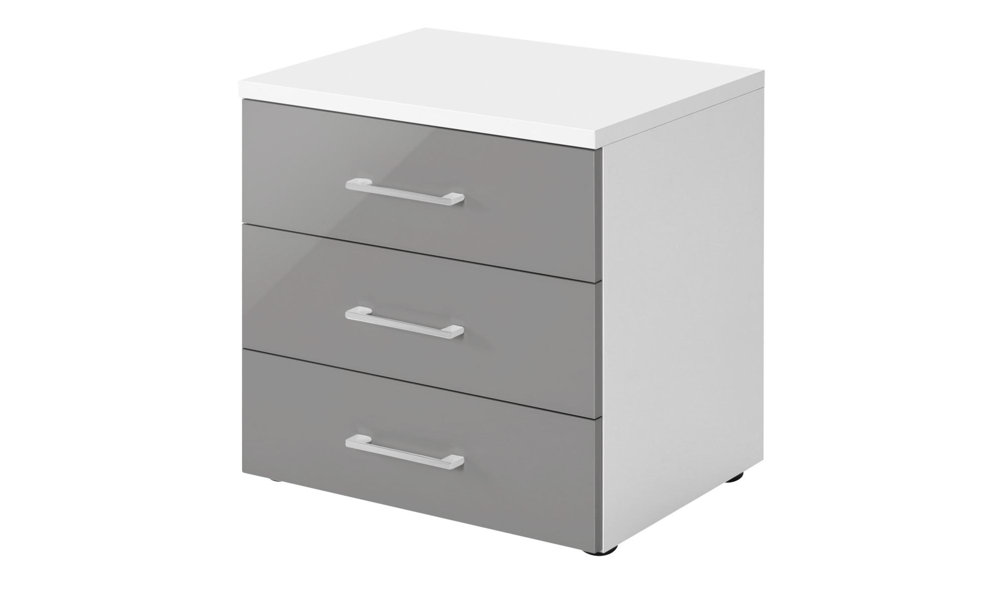 nachtkommode colors breite 50 cm h he 62 cm grau online kaufen bei woonio. Black Bedroom Furniture Sets. Home Design Ideas