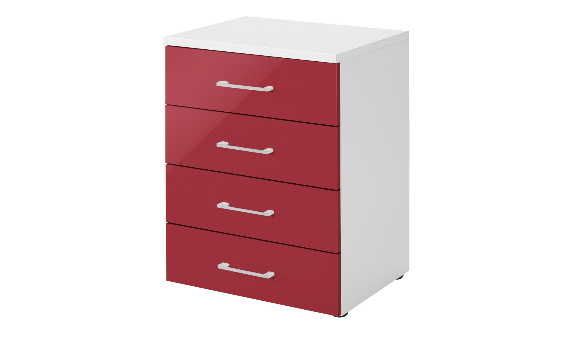nachtkommode colors breite 50 cm h he 68 cm rot online kaufen bei woonio. Black Bedroom Furniture Sets. Home Design Ideas