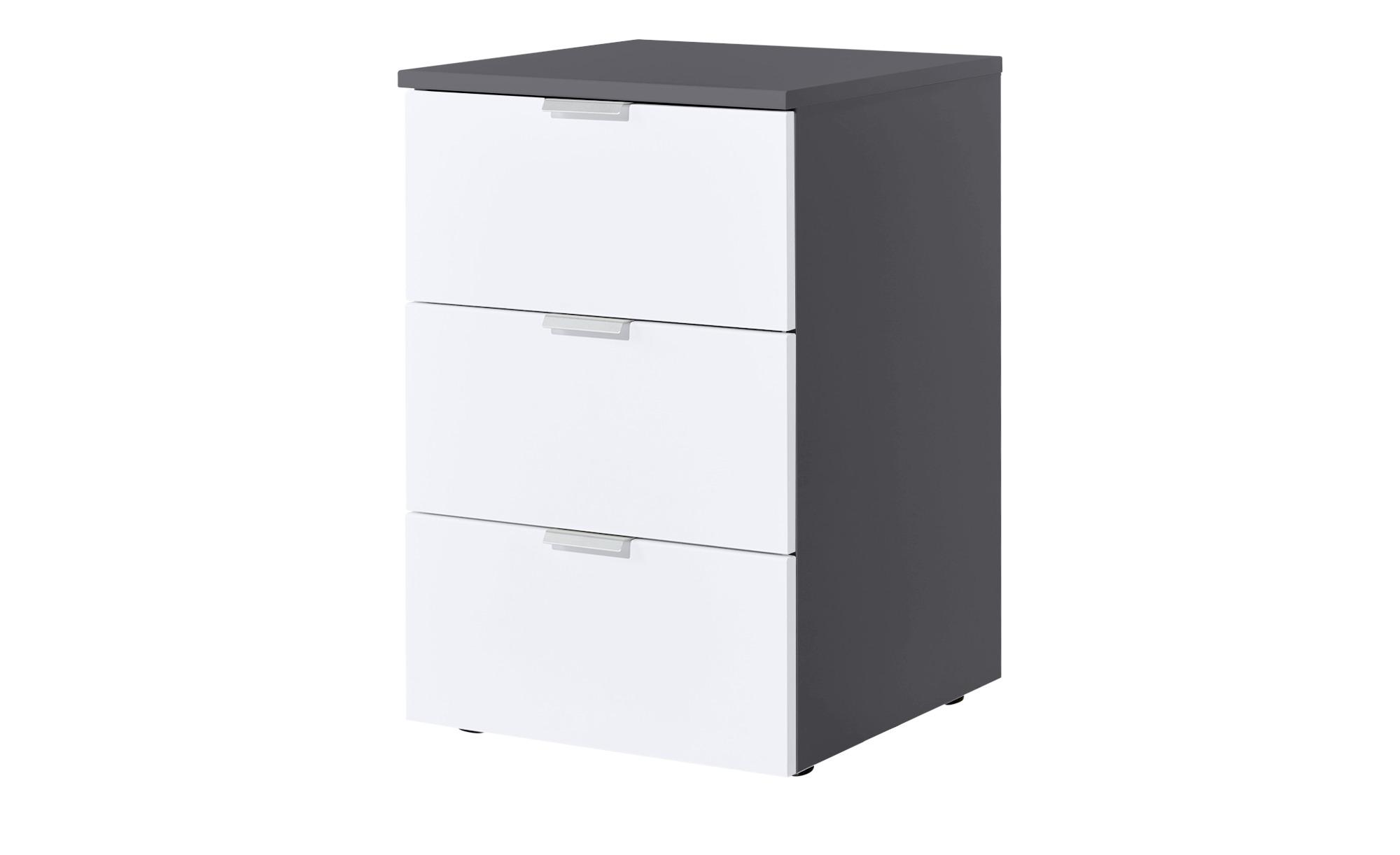 nachtkommode dreamer breite 40 cm h he 61 cm grau online kaufen bei woonio. Black Bedroom Furniture Sets. Home Design Ideas