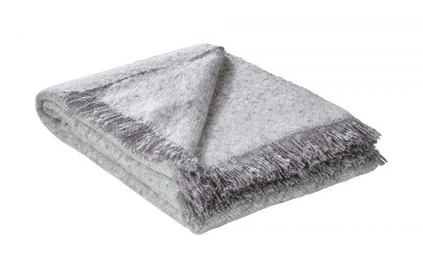 Plaid  Boucle Plaid  Boucle-Plaid-grau-100% Polyacryl Breite: 130 cm Höhe: grau