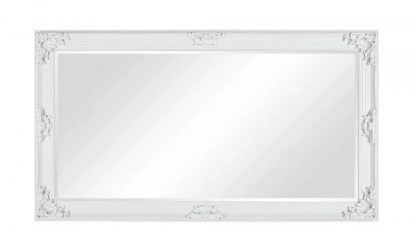 Rahmenspiegel  Rocco Rahmenspiegel  Rocco-Rahmenspiegel-weiß Breite: 100 cm Höhe: 180 cm weiß