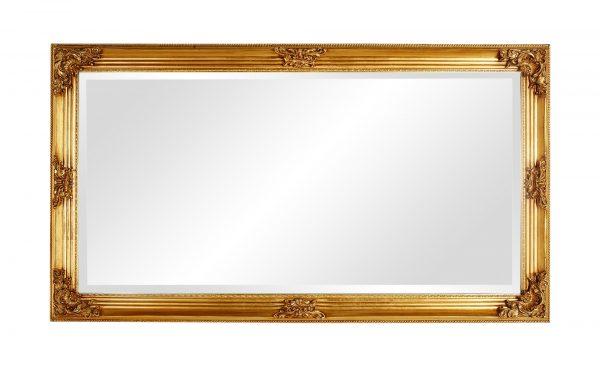 Rahmenspiegel  Vello Rahmenspiegel  Vello-Rahmenspiegel-gold Breite: 100 cm Höhe: 180 cm gold
