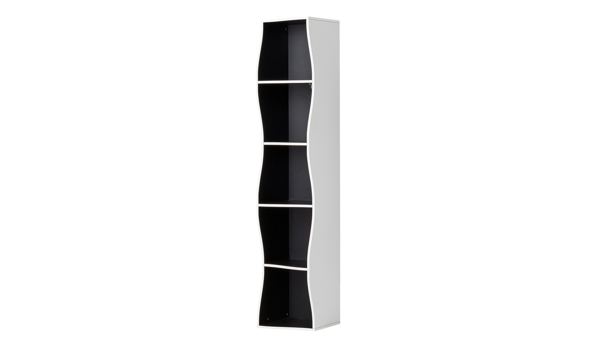 regal curve breite 30 cm h he 150 cm mehrfarbig online. Black Bedroom Furniture Sets. Home Design Ideas