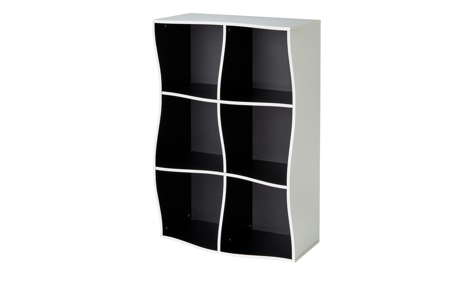 regal curve breite 60 cm h he 90 cm mehrfarbig online kaufen bei woonio. Black Bedroom Furniture Sets. Home Design Ideas