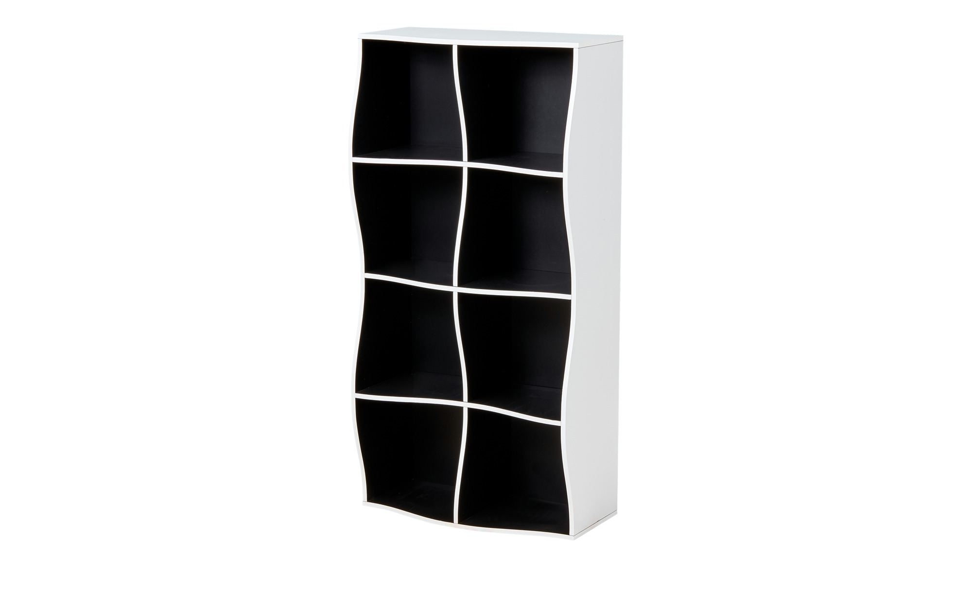 regal curve breite 60 cm h he 120 cm mehrfarbig online kaufen bei woonio. Black Bedroom Furniture Sets. Home Design Ideas