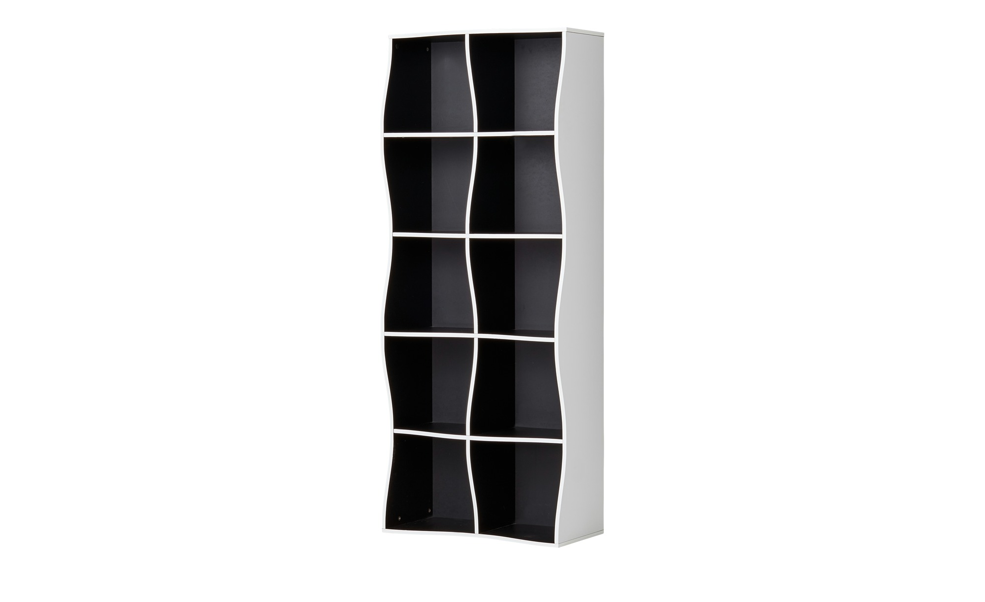 regal curve breite 60 cm h he 150 cm mehrfarbig online kaufen bei woonio. Black Bedroom Furniture Sets. Home Design Ideas