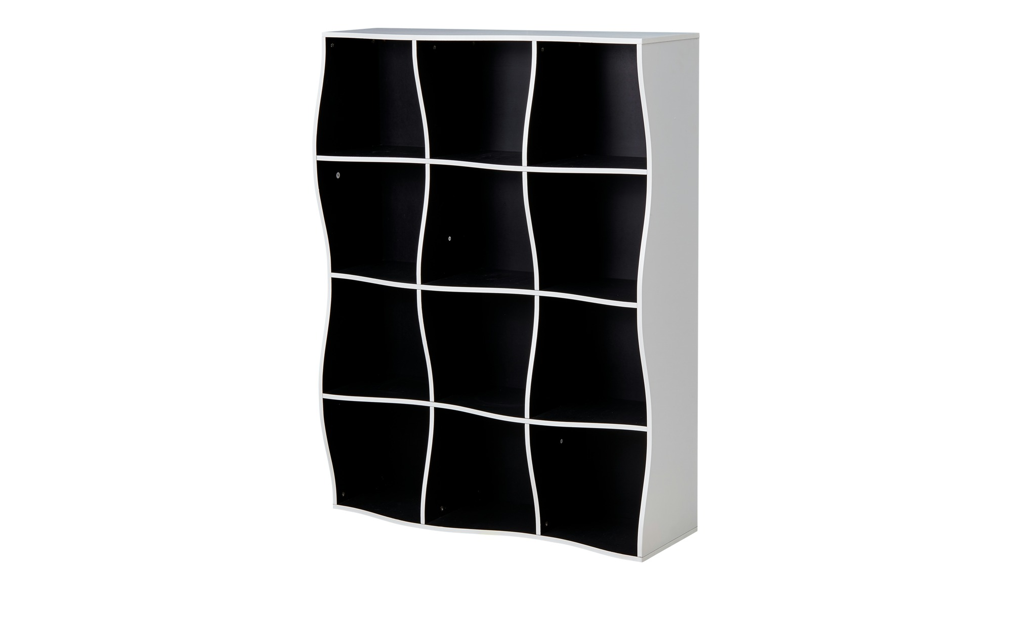regal curve breite 90 cm h he 120 cm mehrfarbig online kaufen bei woonio. Black Bedroom Furniture Sets. Home Design Ideas