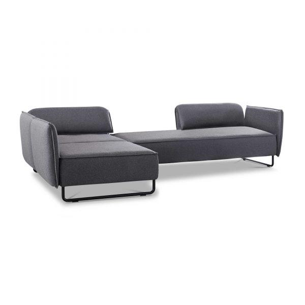 sch ner wohnen ecksofa vision grau stoff online kaufen bei woonio. Black Bedroom Furniture Sets. Home Design Ideas