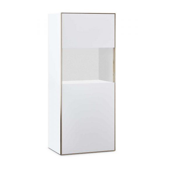 sch ner wohnen highboard patchwork 21145 wei holz online kaufen bei woonio. Black Bedroom Furniture Sets. Home Design Ideas