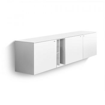 uno TV-Lowboard Gabbro Breite: 166 cm Höhe: 41 cm weiß online kaufen ...