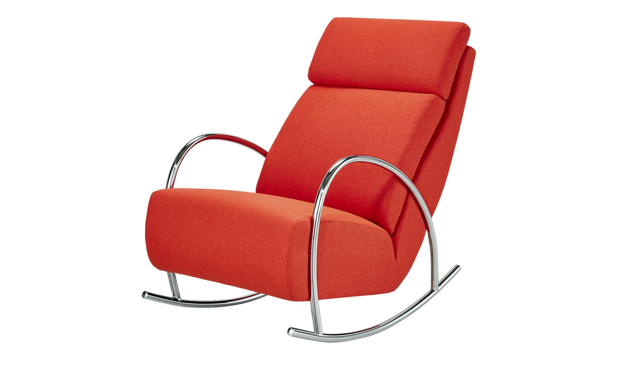 Schaukelsessel Hermine Breite 56 cm Höhe 100 cm orange online kaufen bei WOONIO