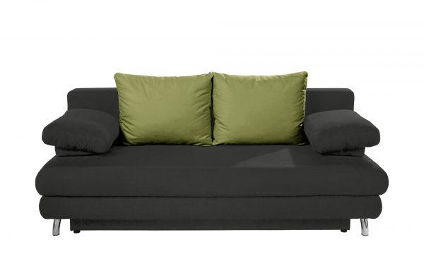 Schlafsofa  Calina Schlafsofa  Calina-Schlafsofa-grün Breite: 205 cm Höhe: 80 cm grün