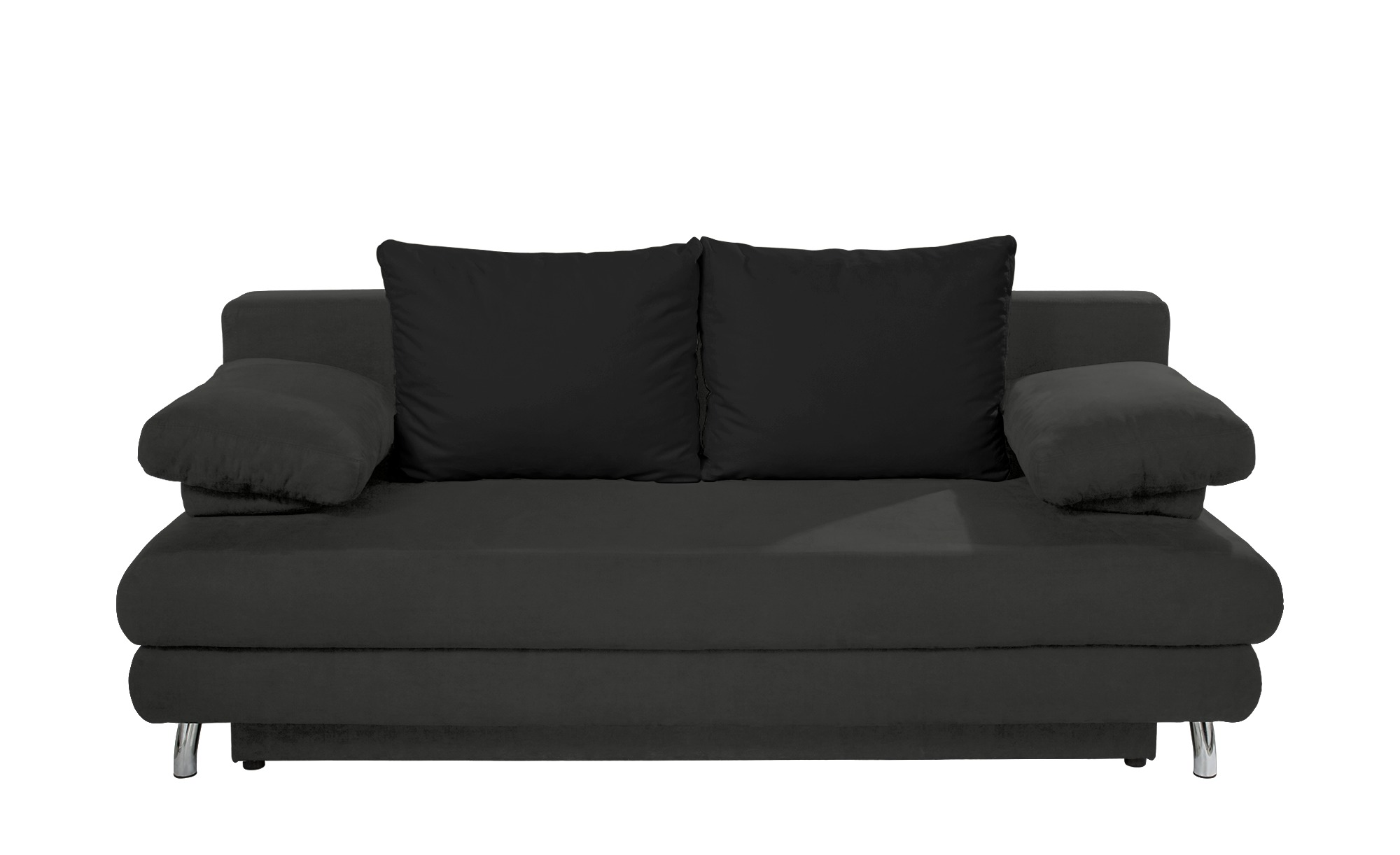 schlafsofa calina breite 205 cm h he 80 cm schwarz online kaufen bei woonio. Black Bedroom Furniture Sets. Home Design Ideas
