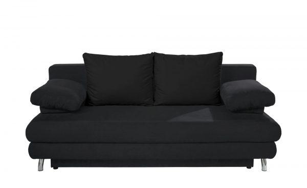 Schlafsofa  Calina Schlafsofa  Calina-Schlafsofa-schwarz Breite: 205 cm Höhe: 80 cm schwarz