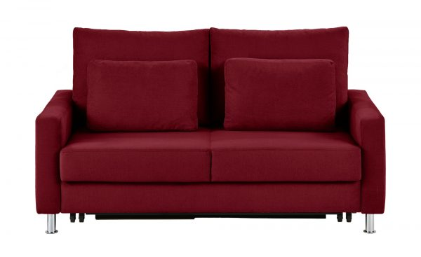 Schlafsofa  Fürth Schlafsofa  Fürth-Schlafsofa-rot Breite: 186 cm Höhe: 90 cm rot
