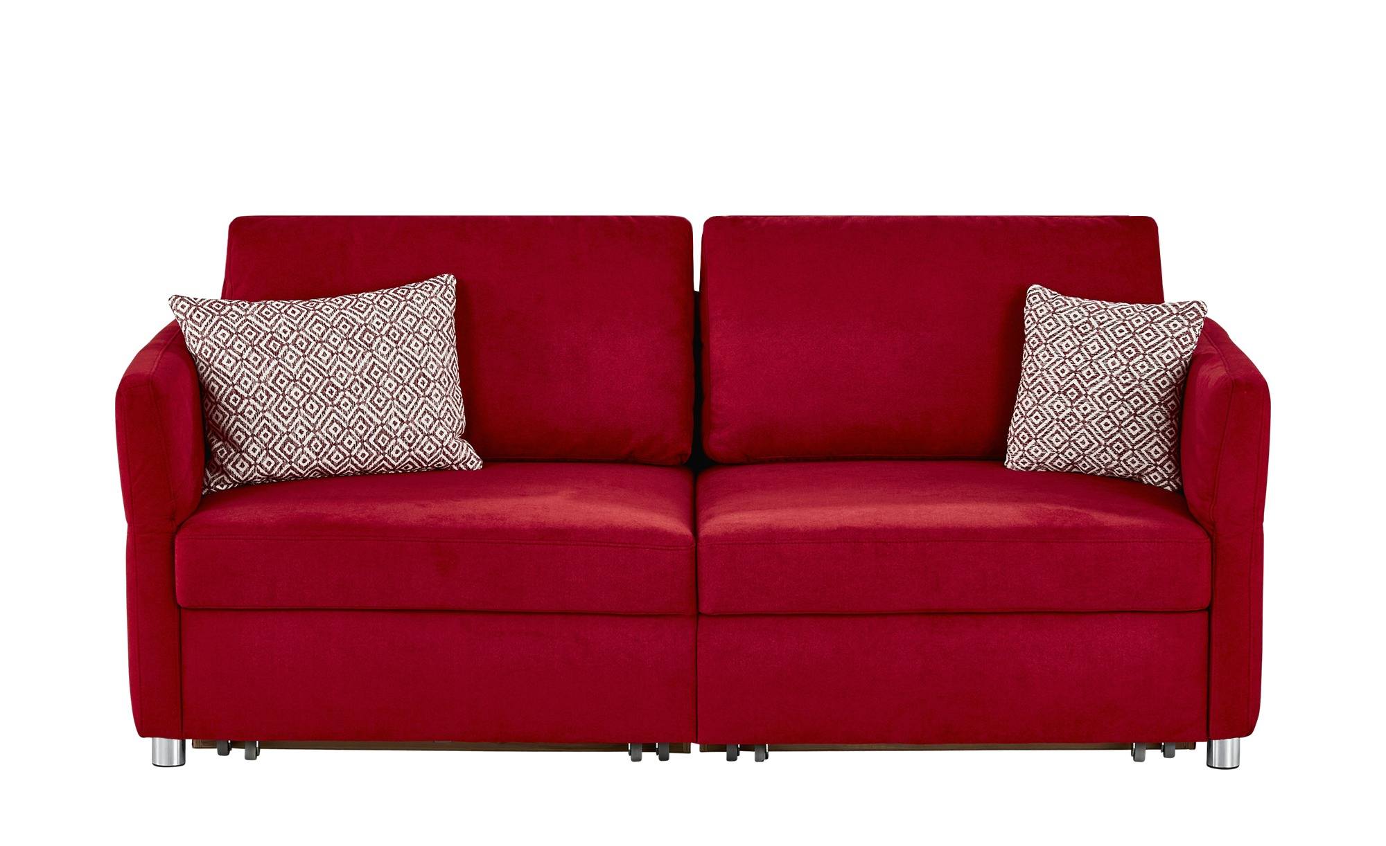 schlafsofa michaela breite 236 cm h he 90 cm rot online kaufen bei woonio. Black Bedroom Furniture Sets. Home Design Ideas