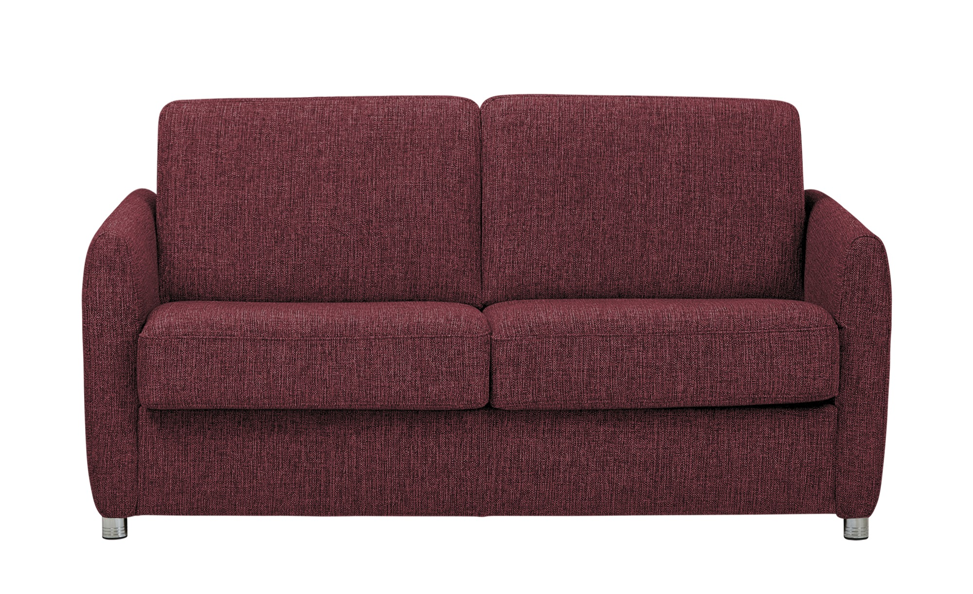Schlafsofa mit faltbettfunktion betty breite 162 cm h he for Schlafsofa rot