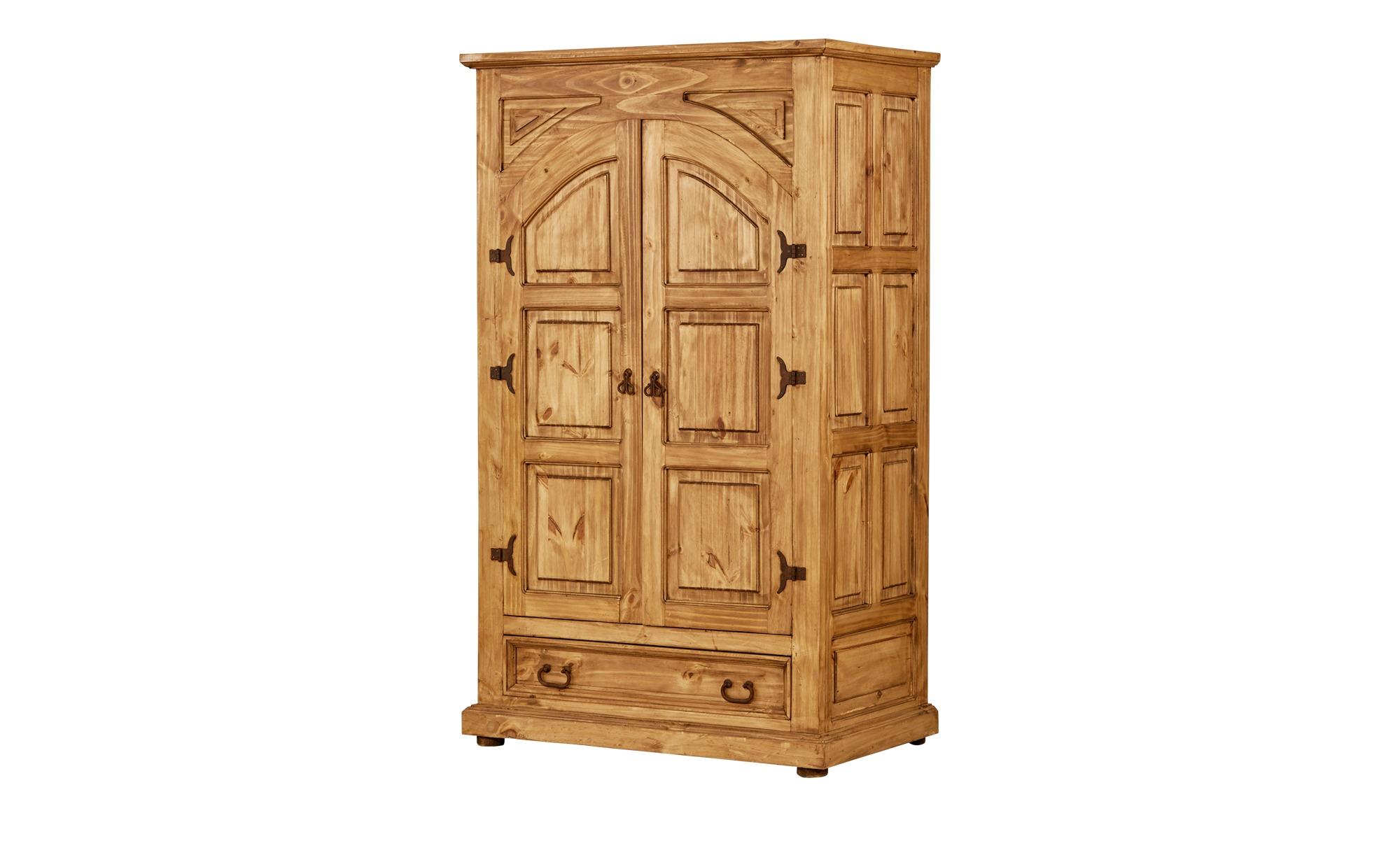 schrank mexicana breite 108 cm h he 184 cm holzfarben online kaufen bei woonio. Black Bedroom Furniture Sets. Home Design Ideas