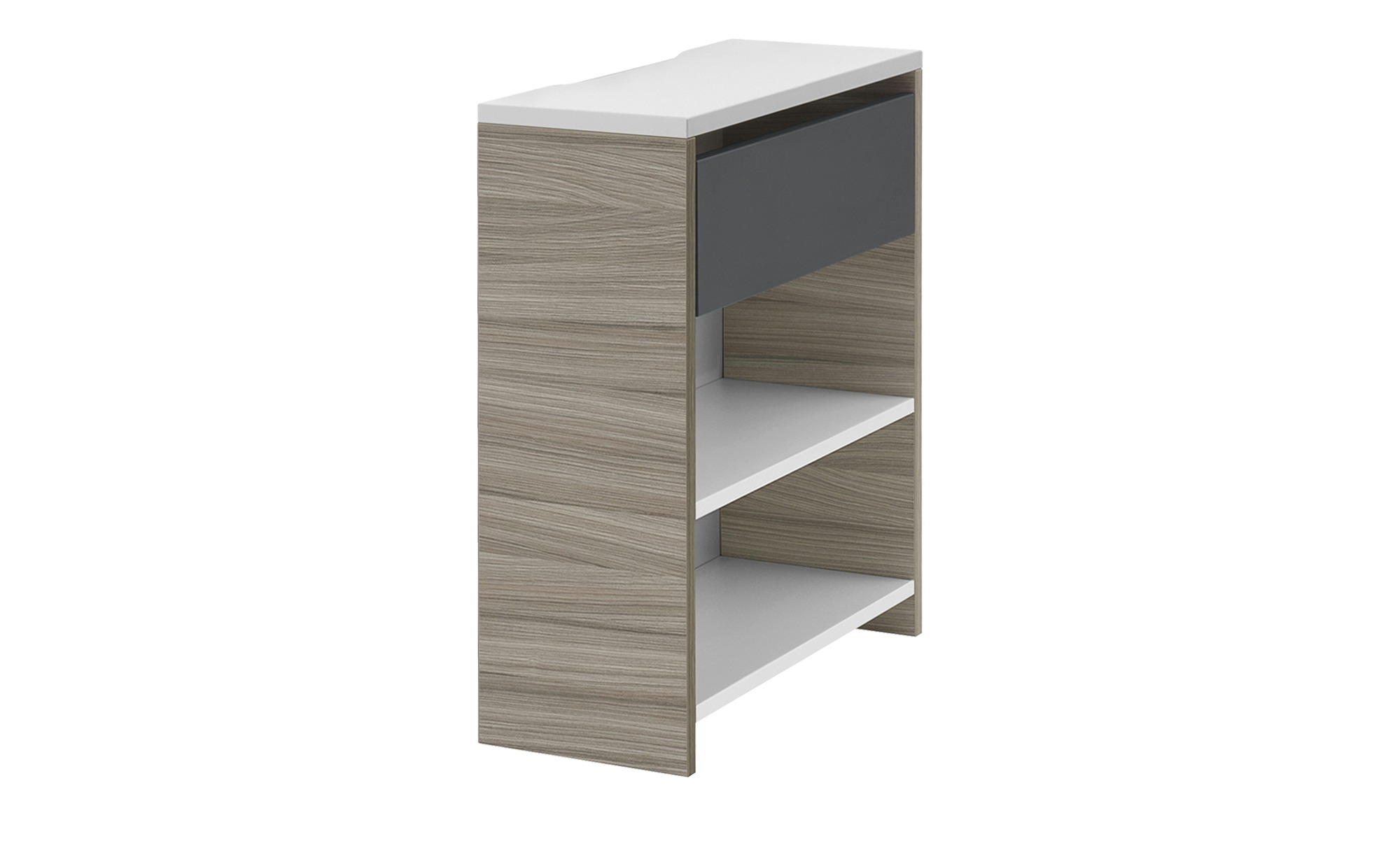 Schreibtisch anbauregal holly breite 25 cm h he 72 cm for Schreibtisch breite 90 cm