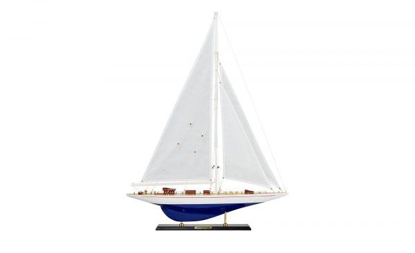 Segelboot-Modell  Nautic Segelboot-Modell  Nautic-Segelboot-Modell-holzfarben-Holz Breite: 68 cm Höhe: 89 cm holzfarben