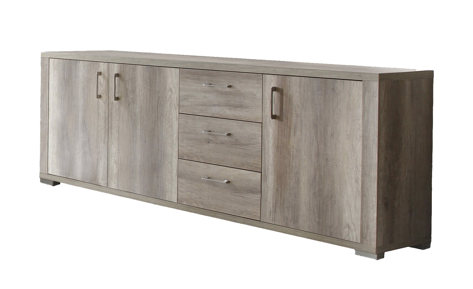 sideboard bosco breite 250 cm h he 87 cm holzfarben online kaufen bei woonio. Black Bedroom Furniture Sets. Home Design Ideas