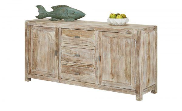 sideboard casablanca breite 175 cm h he 85 cm holzfarben online kaufen bei woonio. Black Bedroom Furniture Sets. Home Design Ideas