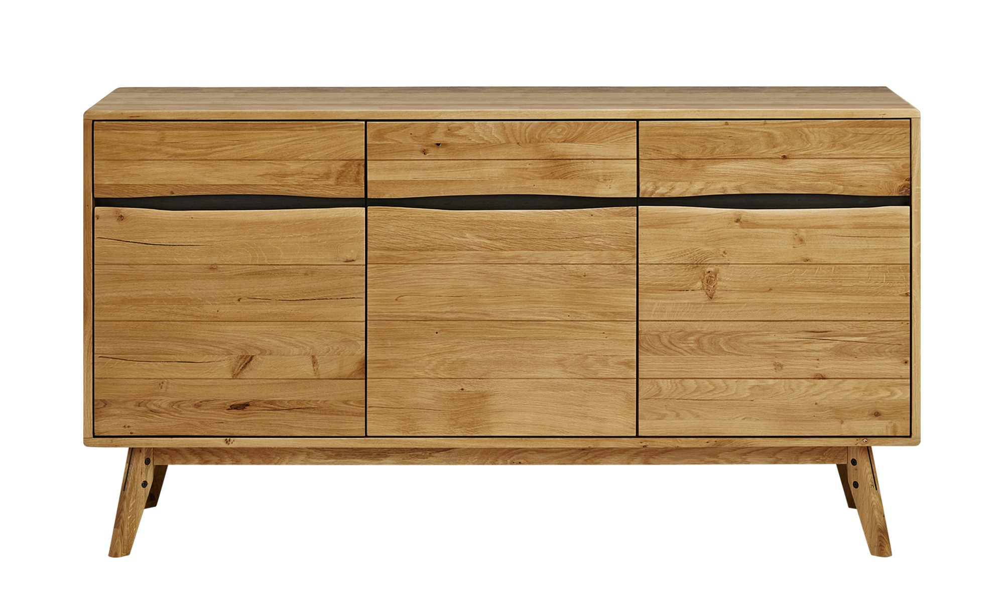 sideboard cinnamon breite 160 cm h he 88 cm holzfarben. Black Bedroom Furniture Sets. Home Design Ideas