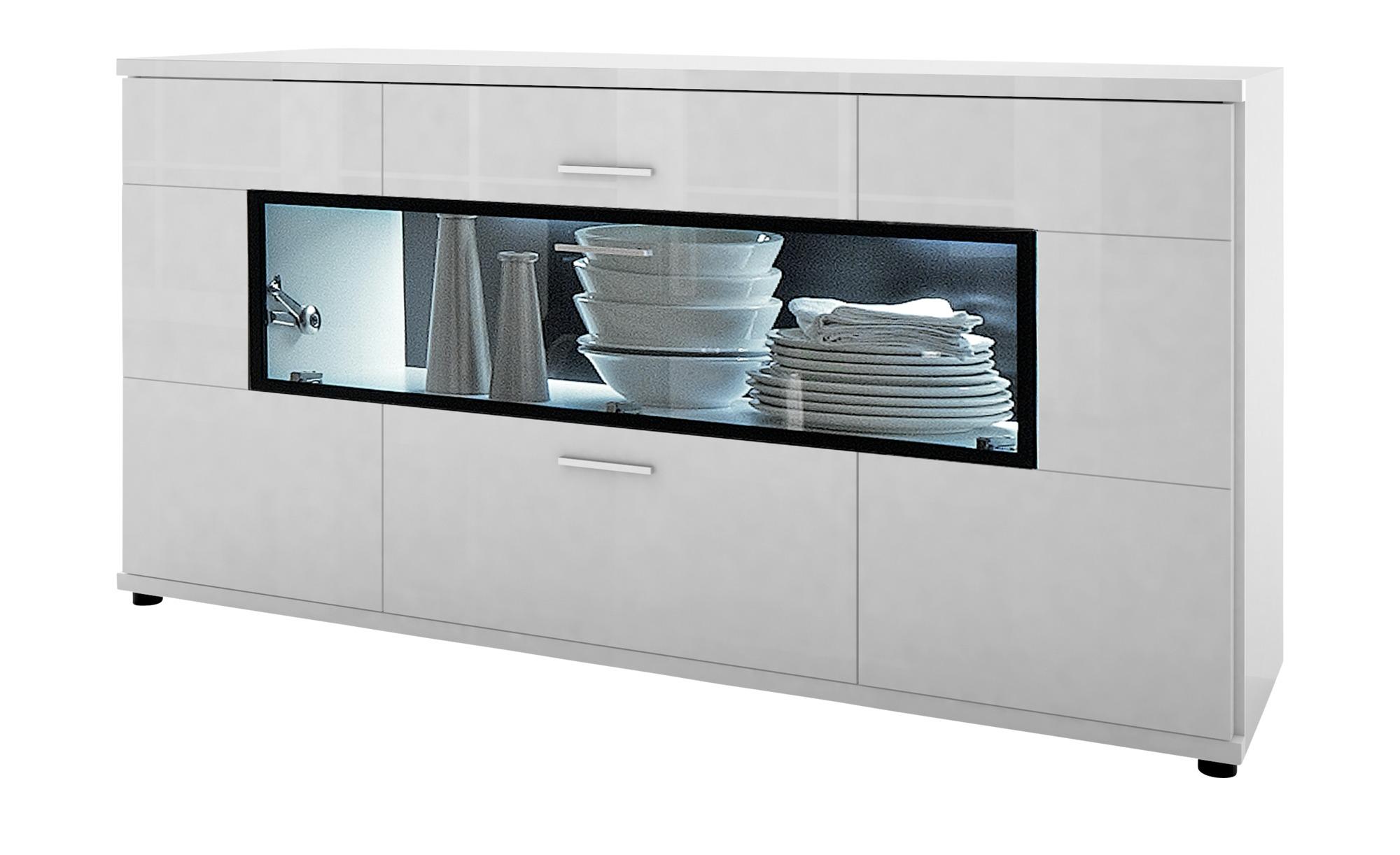 Sideboard Corano Breite 180 Cm Höhe 90 Cm Weiß Online Kaufen Bei