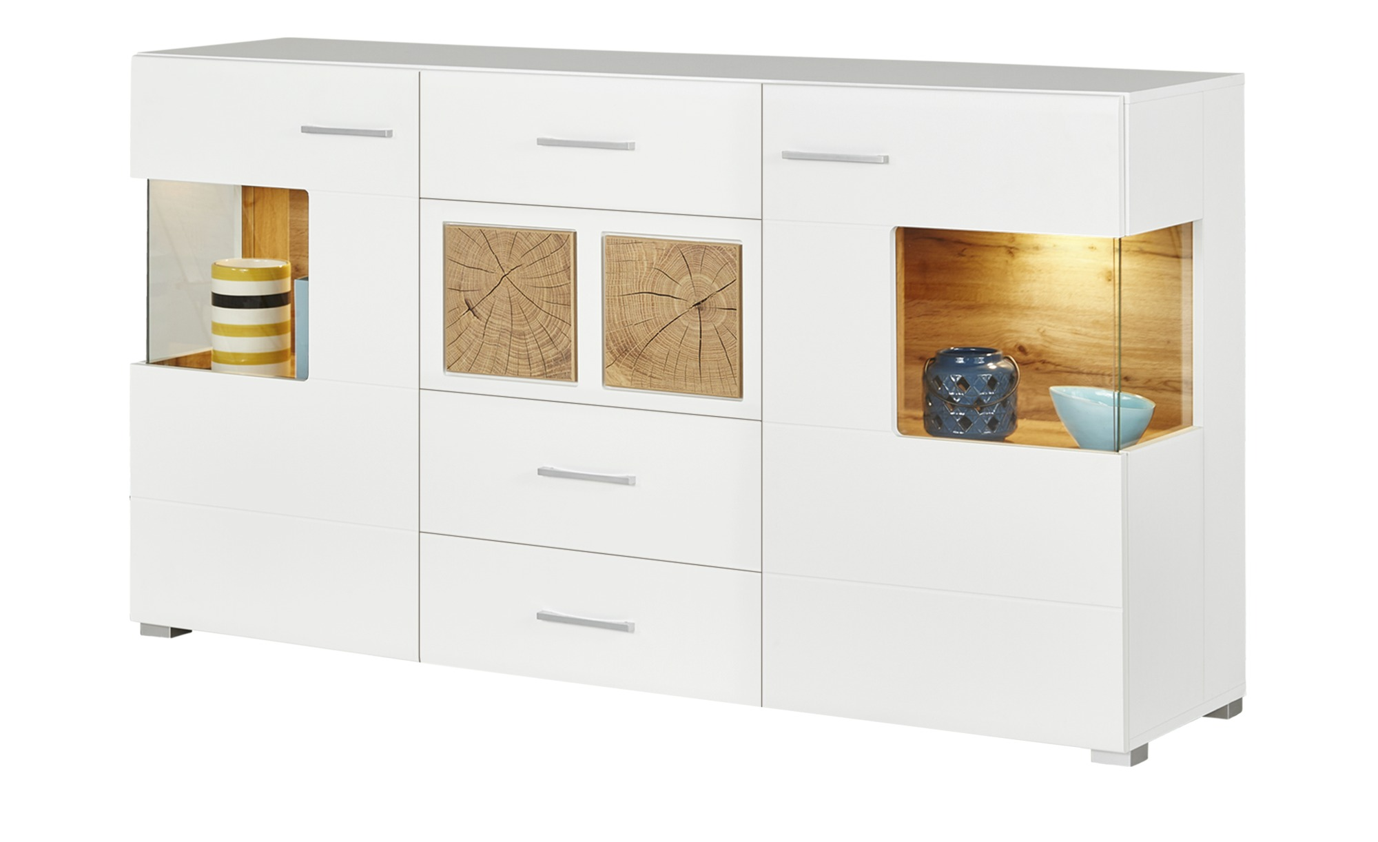 sideboard cortina breite 170 cm h he 94 cm wei online kaufen bei woonio. Black Bedroom Furniture Sets. Home Design Ideas