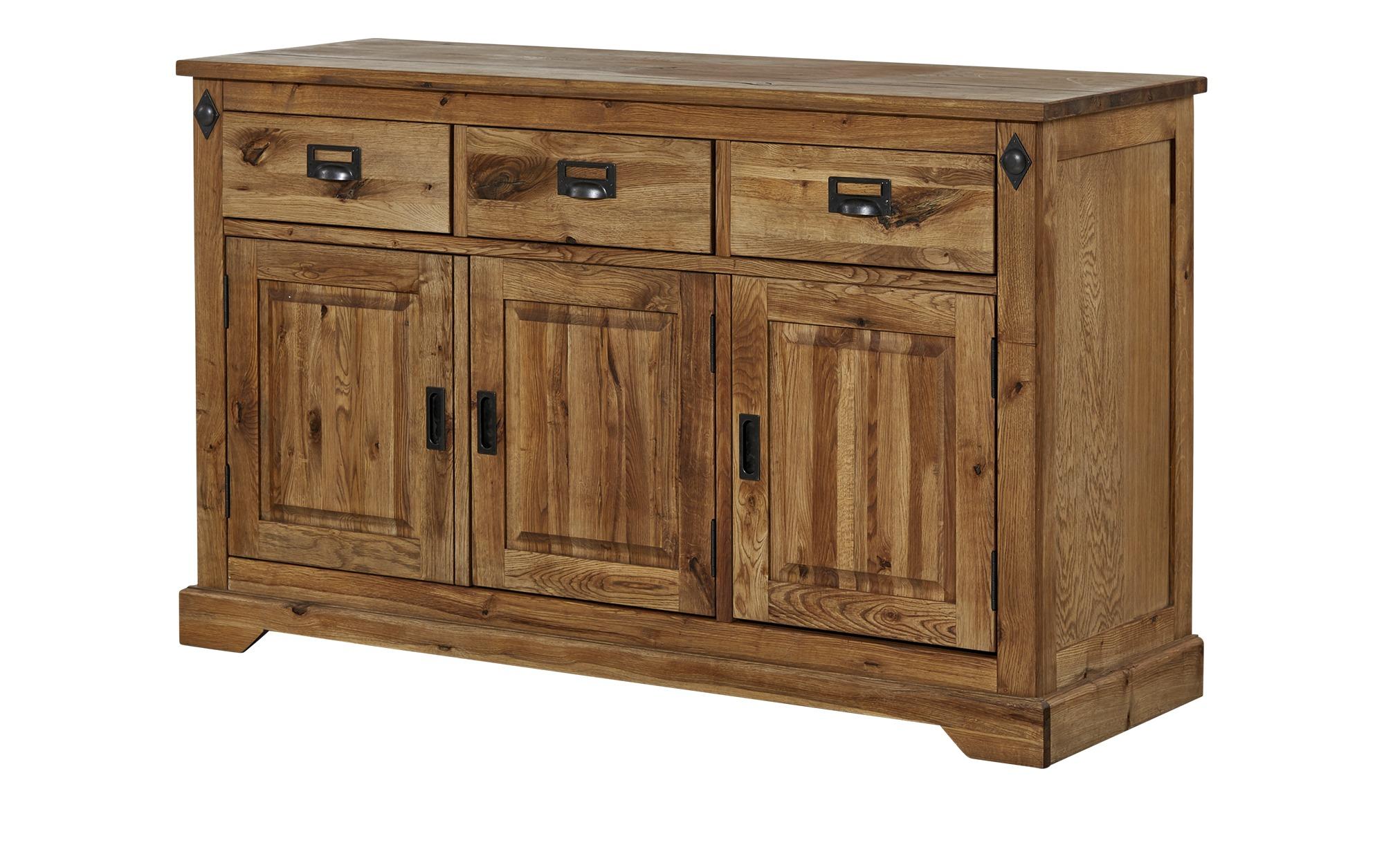 sideboard freddy breite 146 cm h he 90 cm holzfarben online kaufen bei woonio. Black Bedroom Furniture Sets. Home Design Ideas