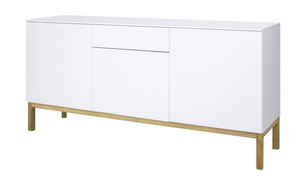 Sideboard  Loi Sideboard  Loi-Sideboard-weiß Breite: 179 cm Höhe: 85 cm weiß