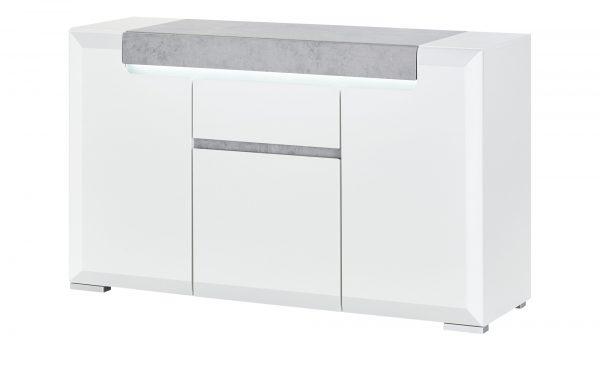 Sideboard  Puro Sideboard  Puro-Sideboard-weiß Breite: 140 cm Höhe: 84 cm weiß