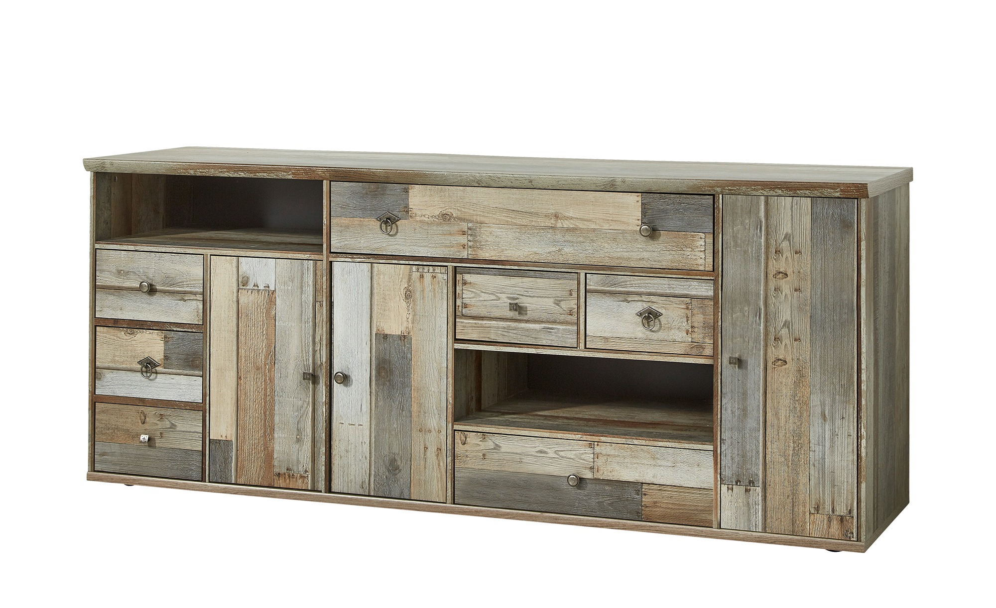 sideboard sedona breite 194 cm h he 80 cm holzfarben online kaufen bei woonio. Black Bedroom Furniture Sets. Home Design Ideas