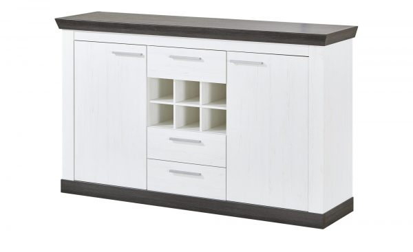 Sideboard  Sierra Sideboard  Sierra-Sideboard-weiß Breite: 167 cm Höhe: 104 cm weiß