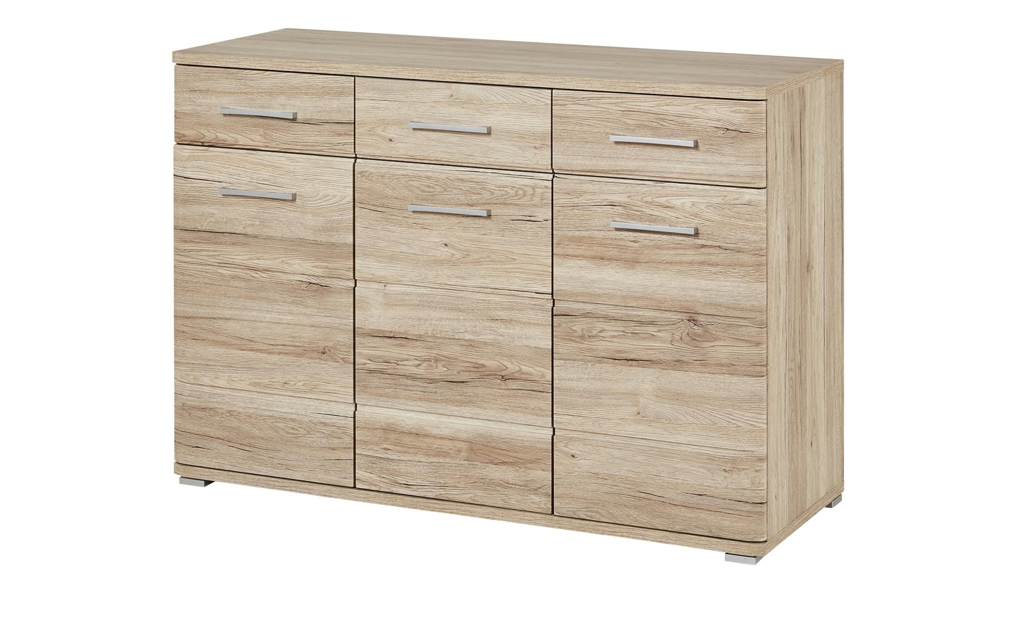 sideboard torino breite 120 cm h he 86 cm holzfarben. Black Bedroom Furniture Sets. Home Design Ideas