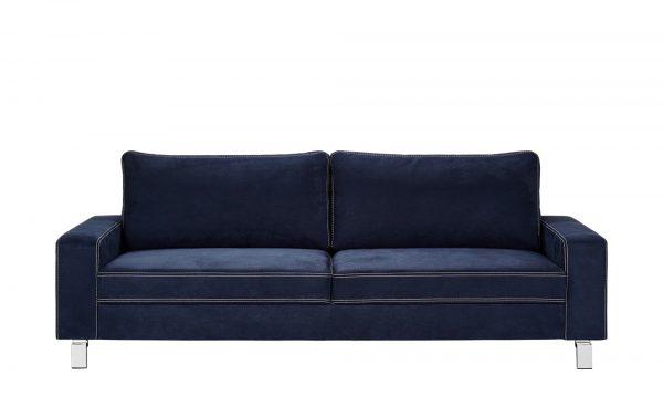 Sofa  Coline Sofa  Coline-Sofa-blau Breite: 218 cm Höhe: 83 cm blau