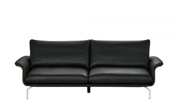 Sofa  Lina Sofa  Lina-Sofa-schwarz Breite: 247 cm Höhe: 87 cm schwarz
