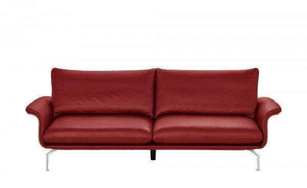 Sofa  Lina Sofa  Lina-Sofa-rot Breite: 247 cm Höhe: 87 cm rot