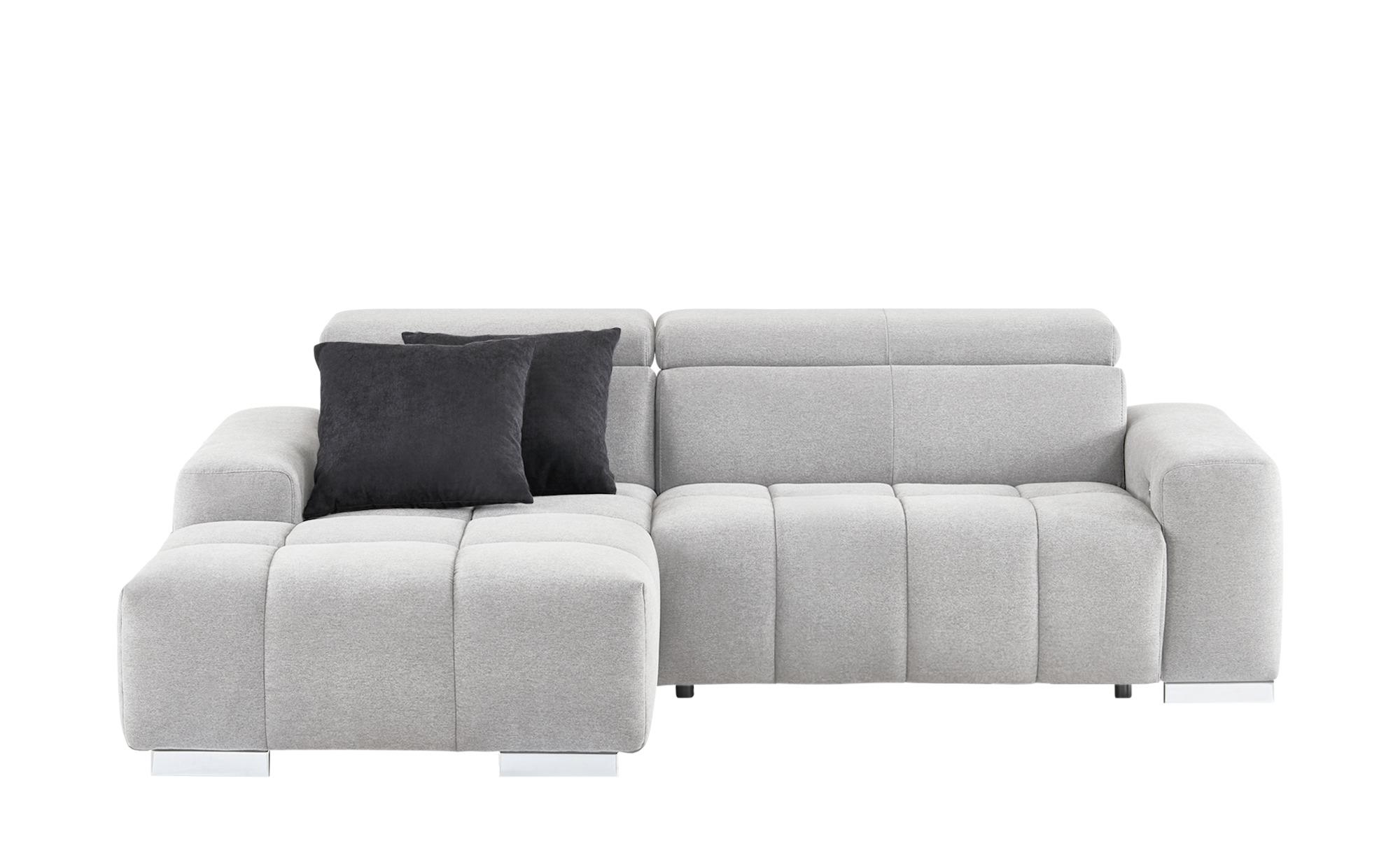stoff eckcouch mailo breite h he 82 cm grau online kaufen bei woonio. Black Bedroom Furniture Sets. Home Design Ideas