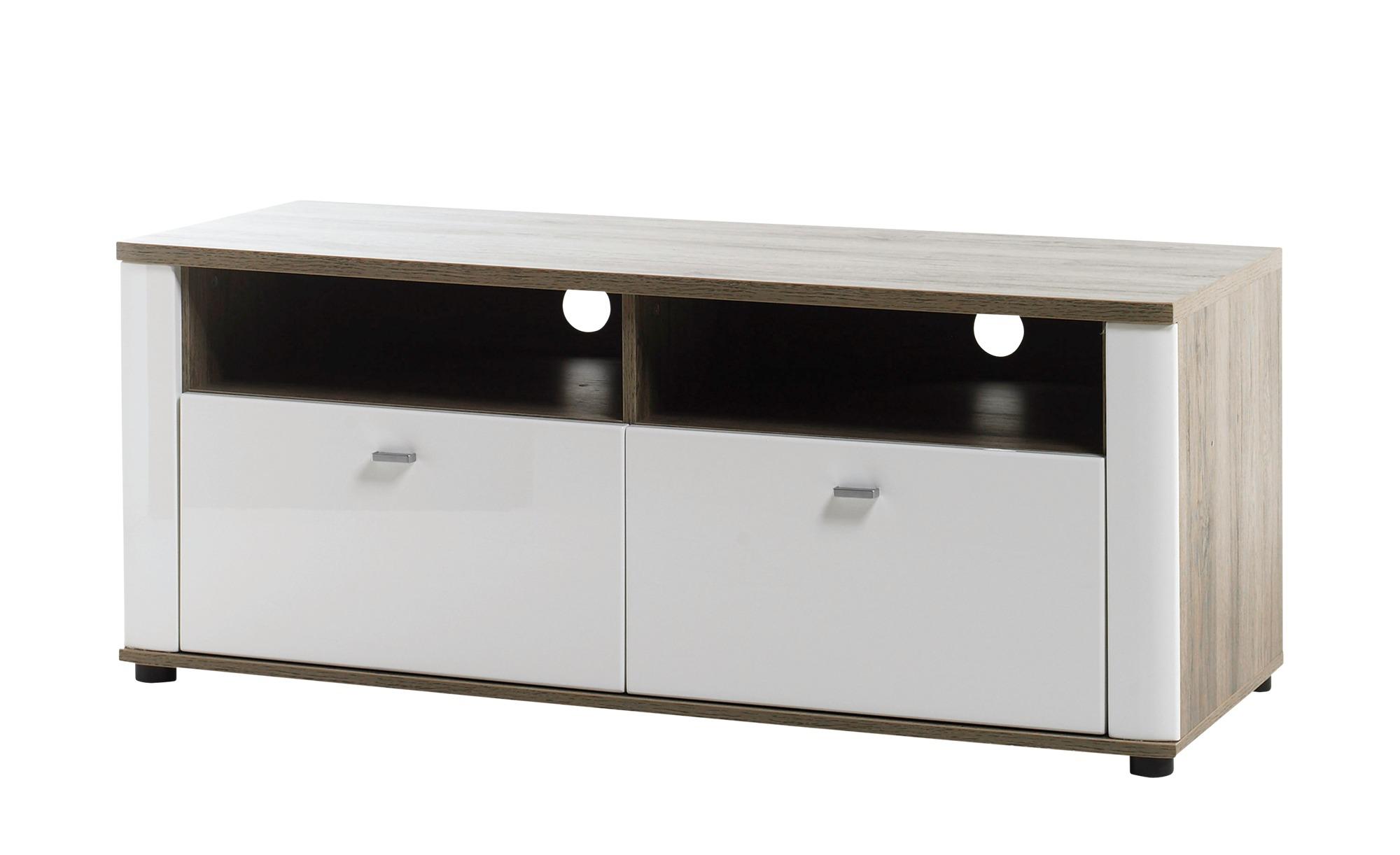 TV-Element Modena Breite: 125 Cm Höhe: 48 Cm Weiß Online